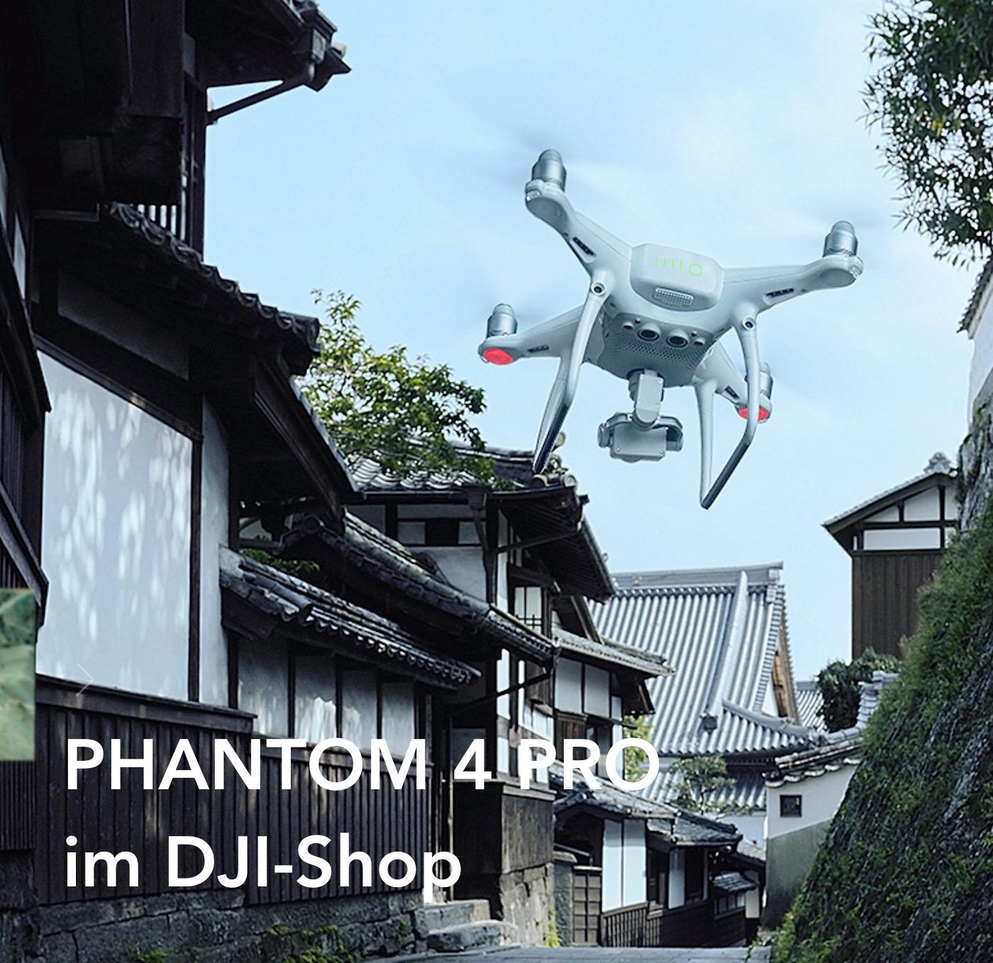 DJI Phantom 4 Pro mit neuer Kamera und zusätzlichen Sensoren
