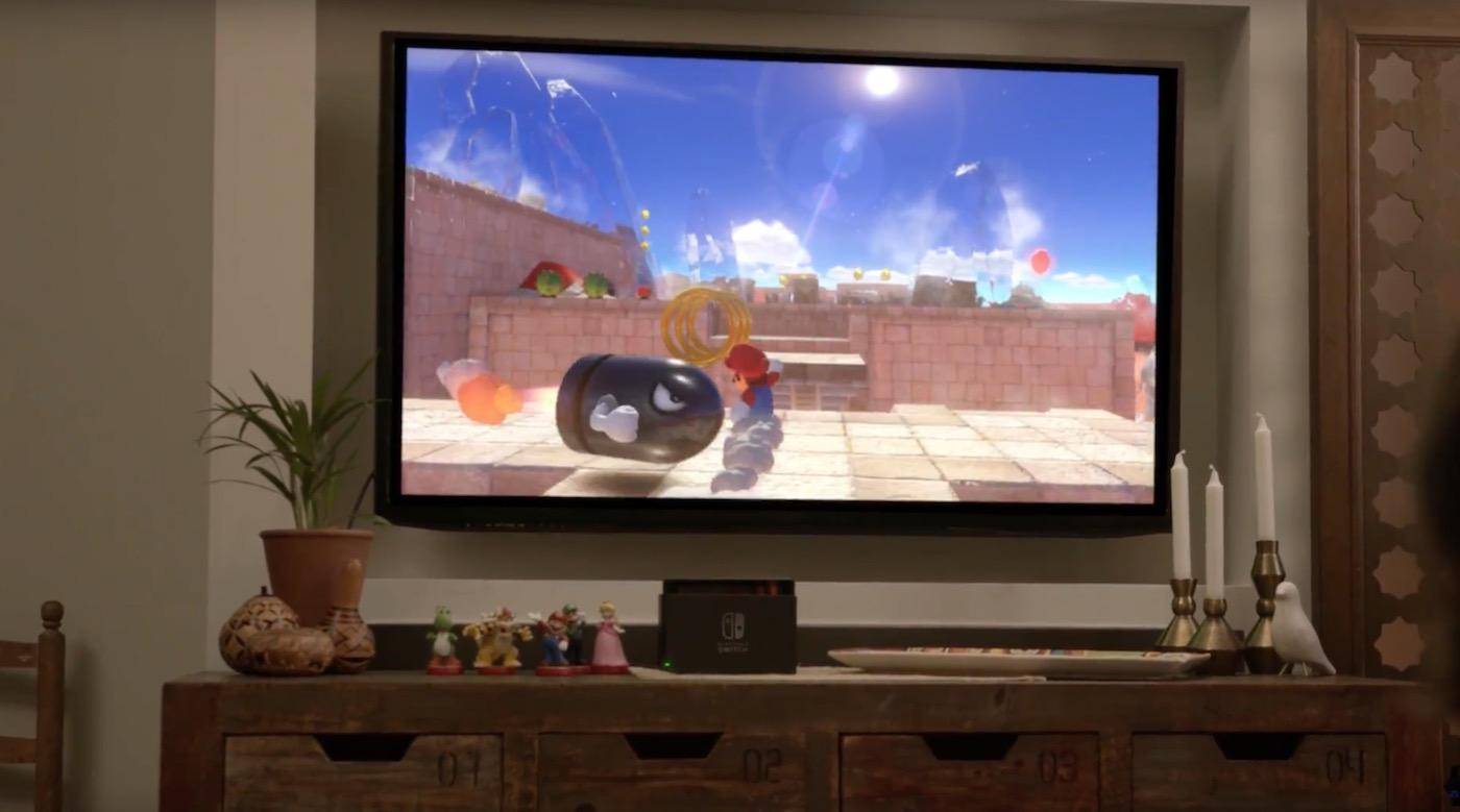 Nintendo Switch mit neuem Super Mario