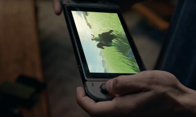 Nintendo Switch mit Zelda