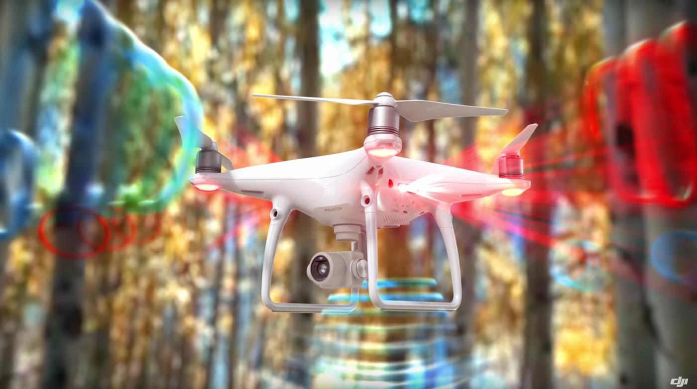 DJI Phantom 4 Pro kommt mit neuen Sensoren und einer verbesserten Kamera (Foto: DJI)