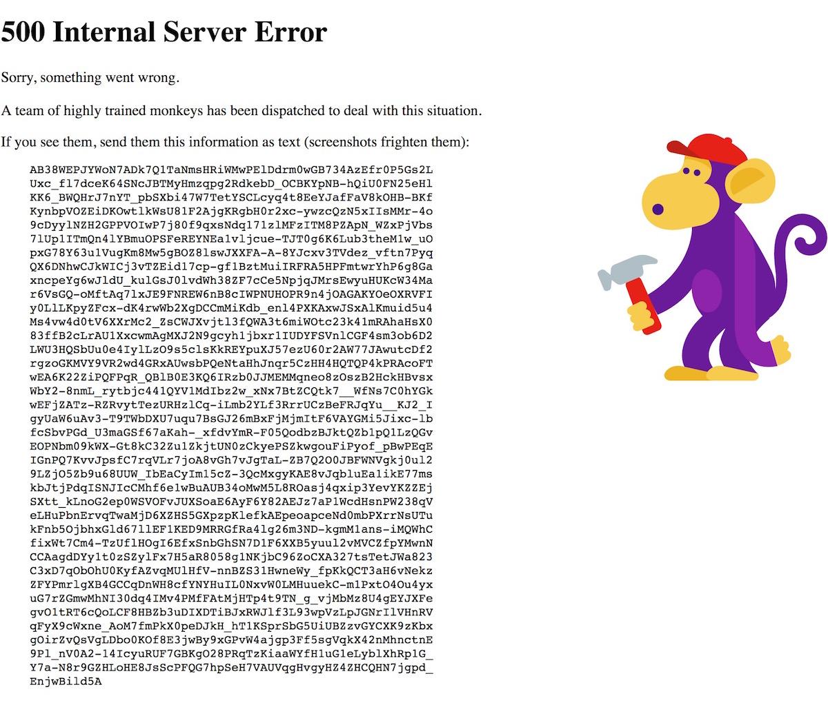YouTube zeigt eine Fehlermeldung und scheint down zu sein
